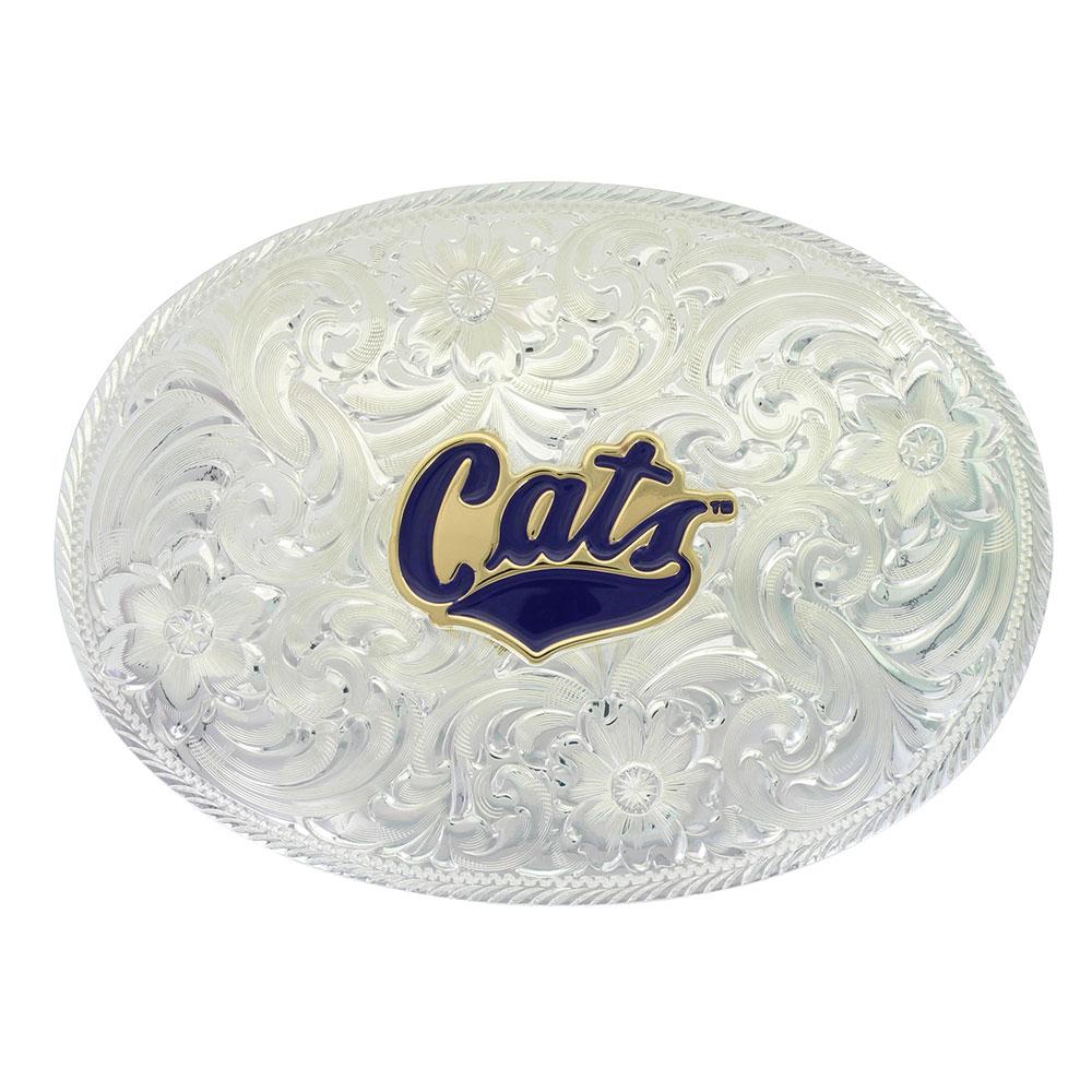 Classic MSU Cats Belt Buckle
