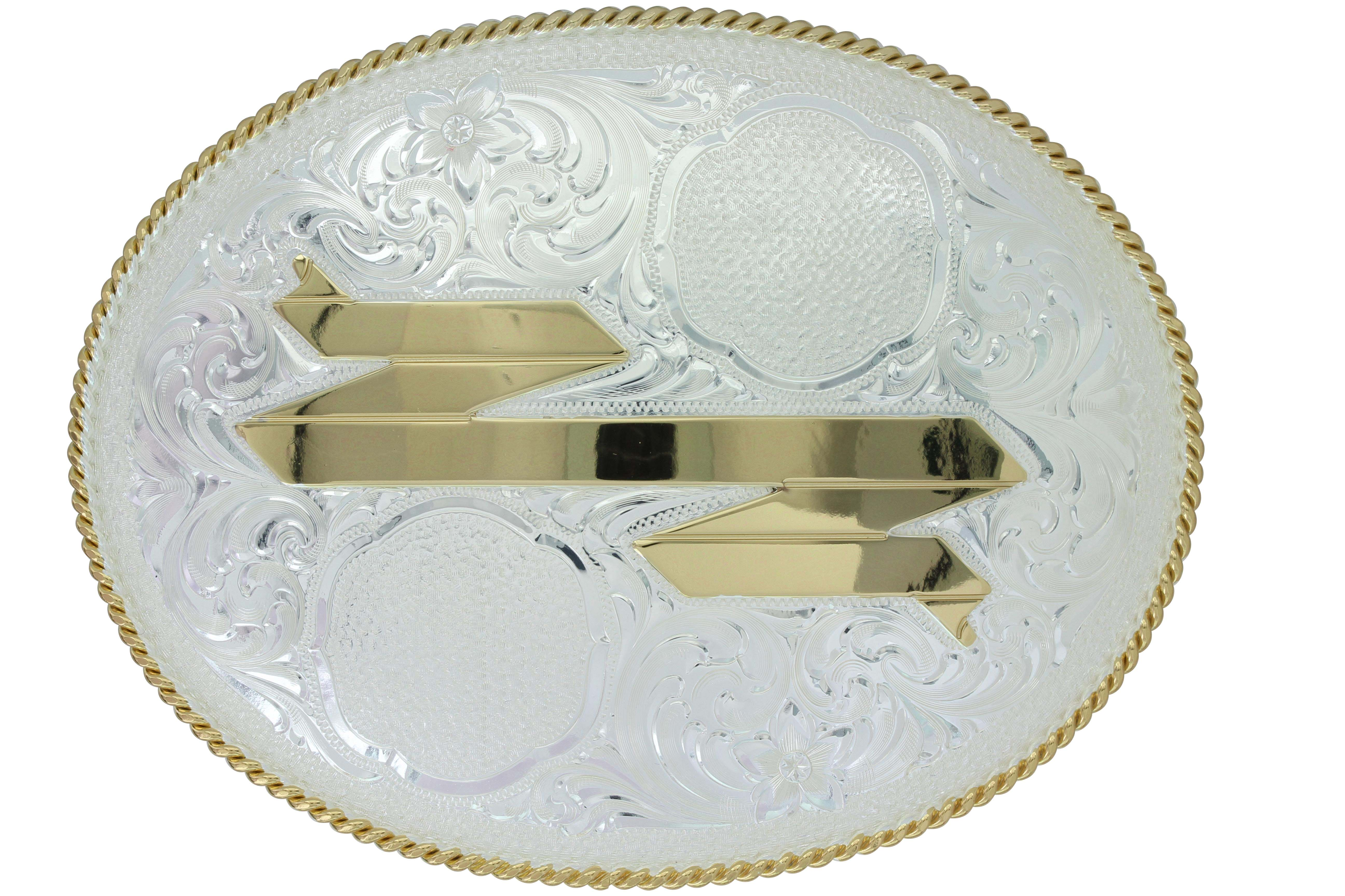 Thompson Falls Dual-Figure Trophy Buckle (5