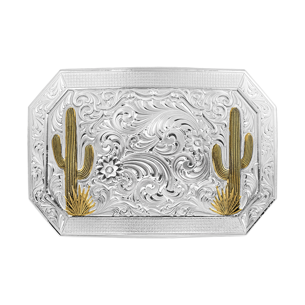 Desert Joy Cactus Custom Buckle