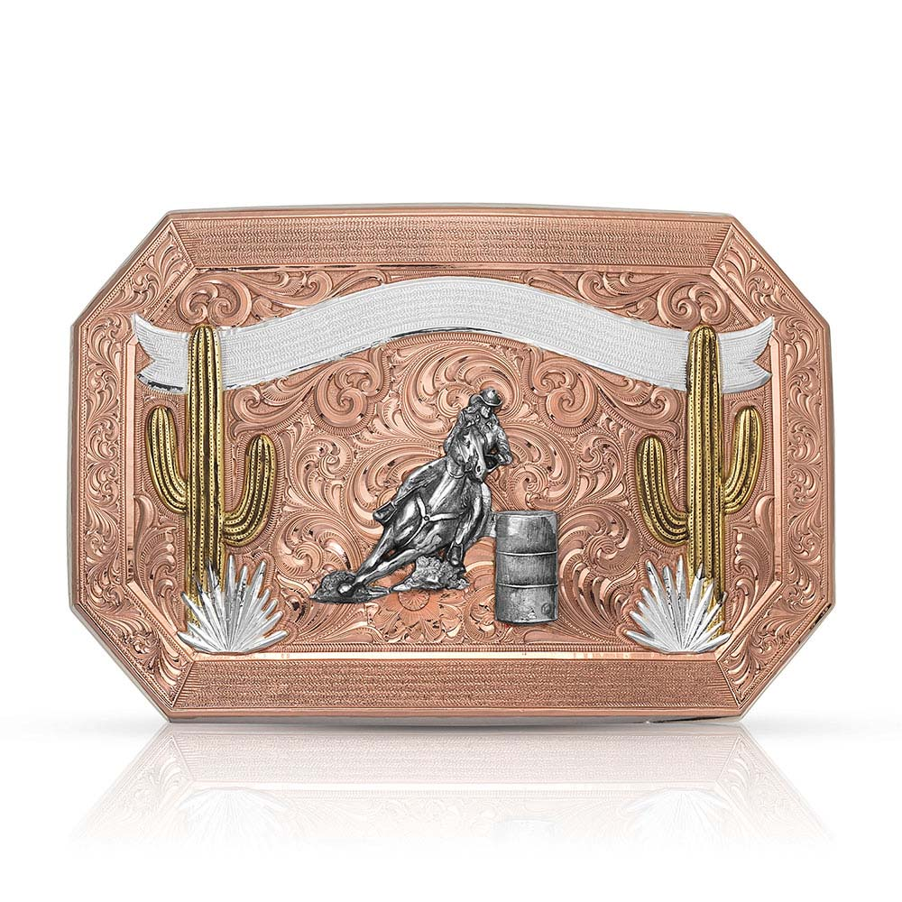 Desert Champion Cactus Trophy Buckle (4.30