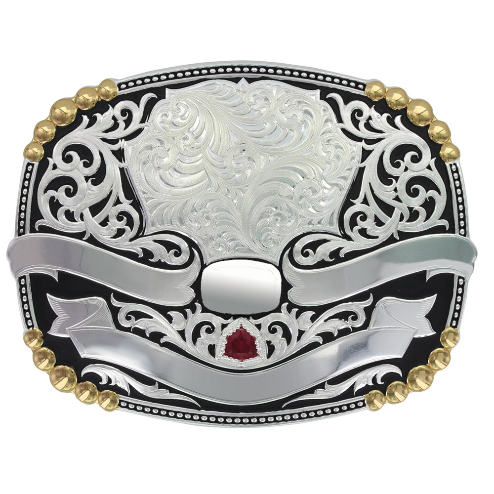 Midnight Rider Trophy Buckle (4.625