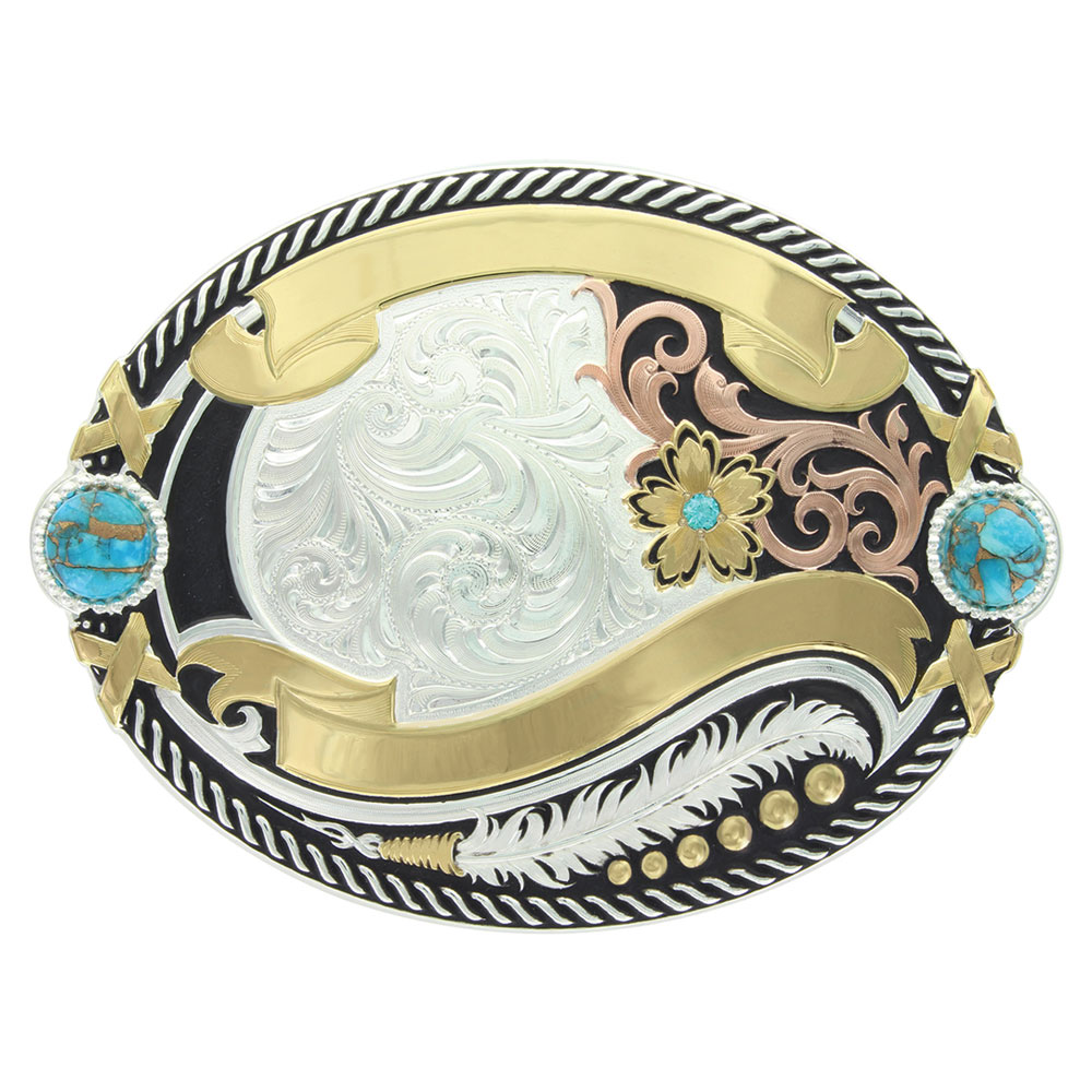 Glacier Pools Trophy Buckle (4.625