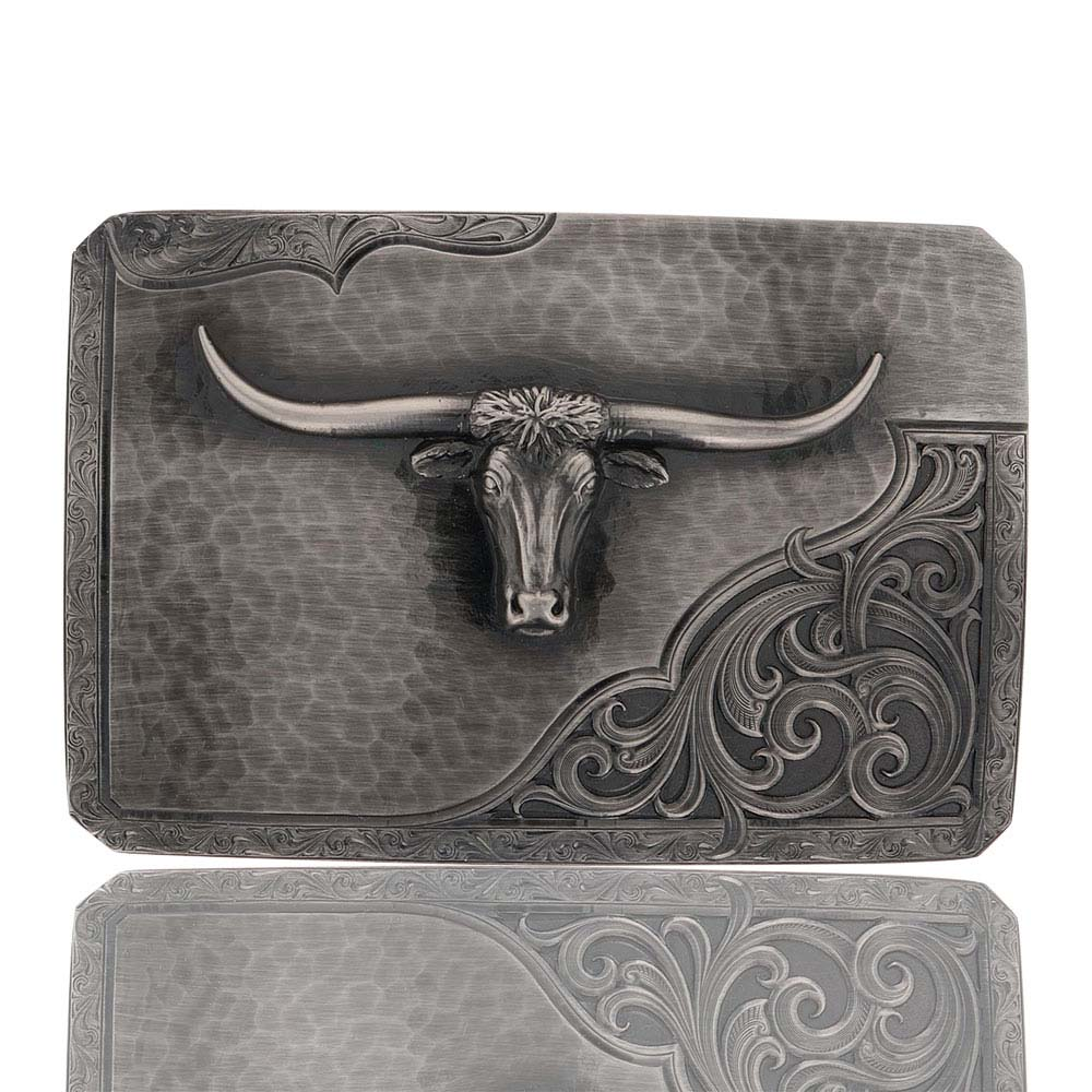 Stormy Rough Out with Longhorn Buckle