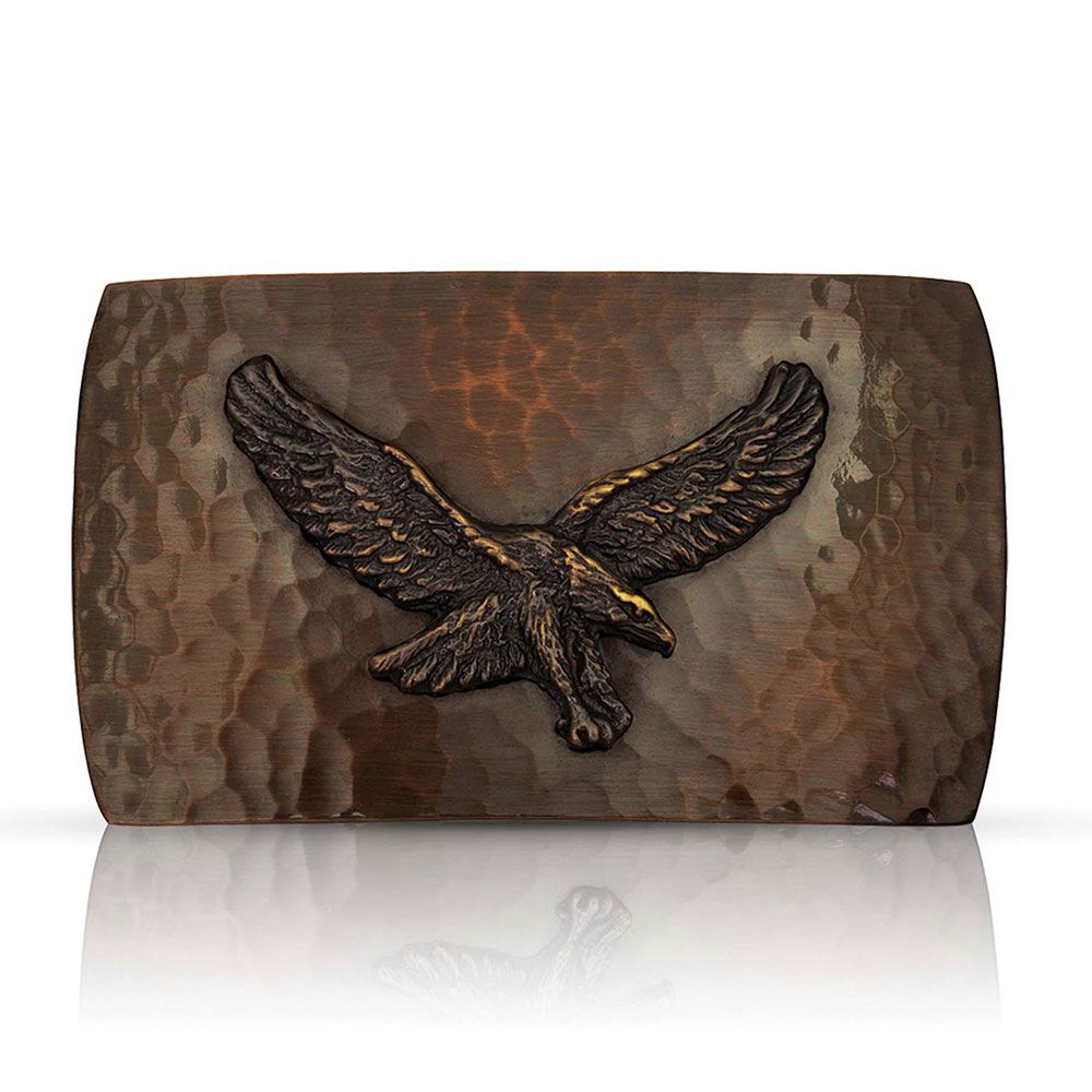 Cascade Buckle with Eagle