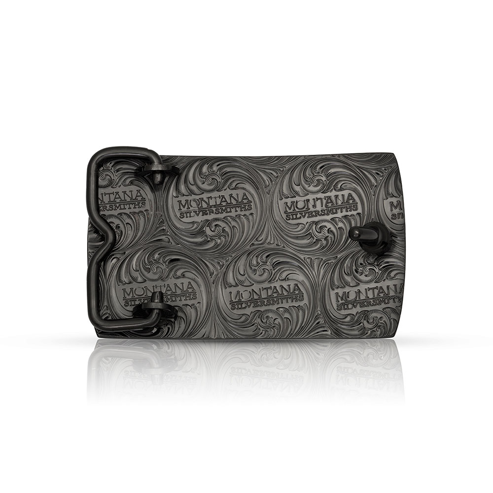 River Rock Cascade Bass Buckle