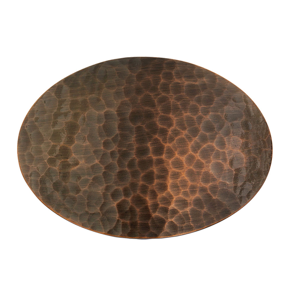 Vintage Bronze Cascade Oval Buckle (3.13