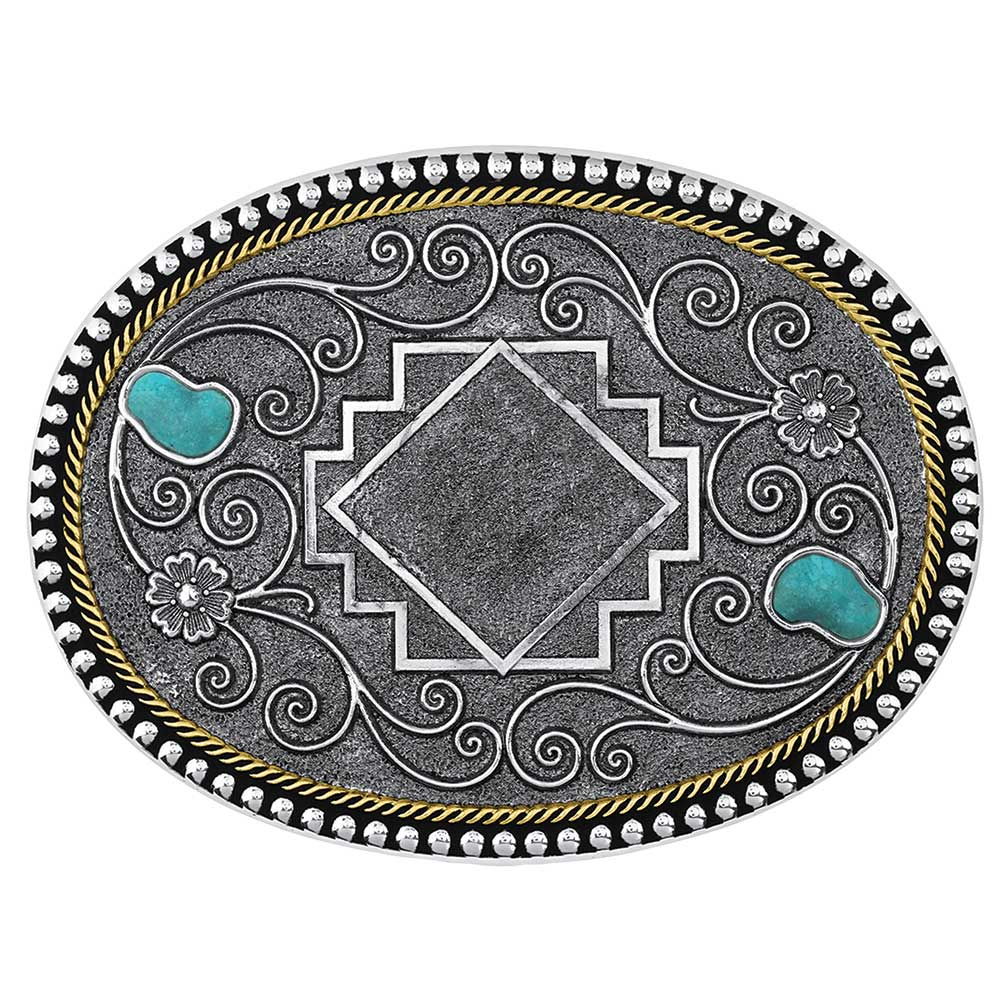 Country Roads Turquoise Buckle