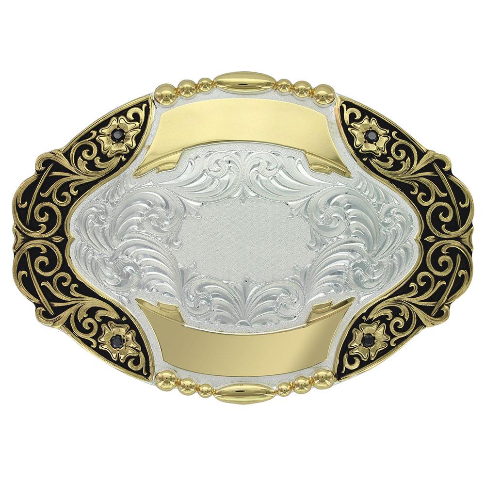 Granite Trophy Buckle (5.375x3.875