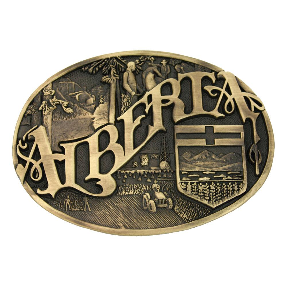 Alberta Province Heritage Attitude Buckle