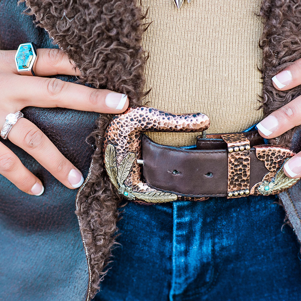 Along the Desert Floor Buckle Set