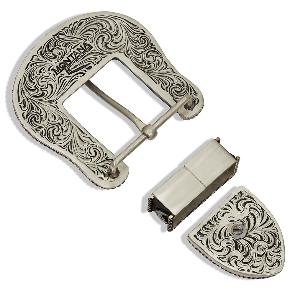 Cornucopia Basket Buckle Set