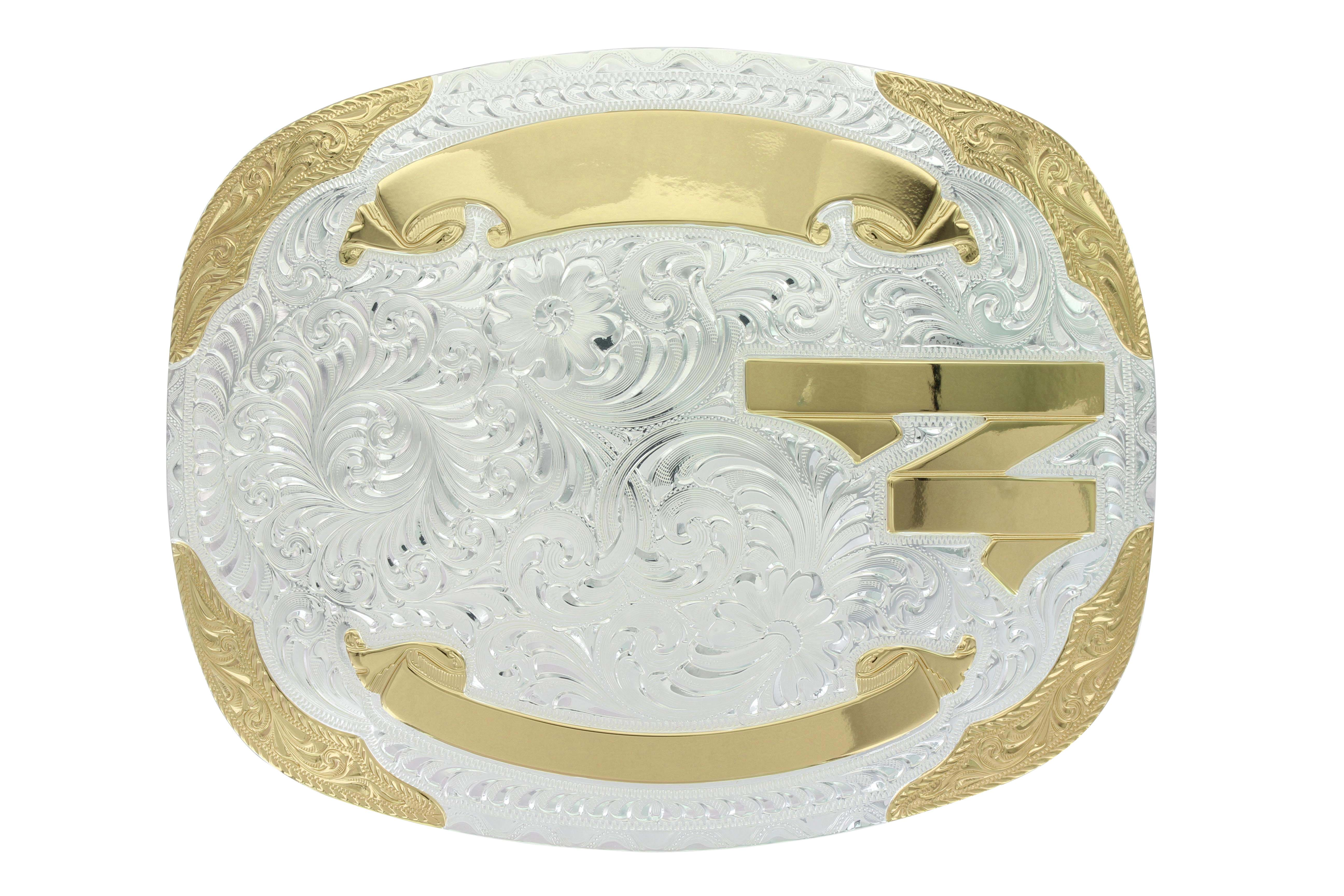 Cut Bank Trophy Buckle (4.25