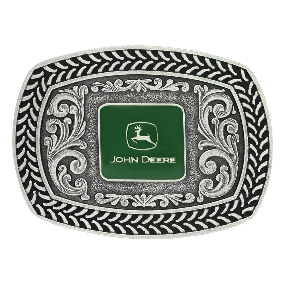 John Deer Tire Tread Attitude Buckle