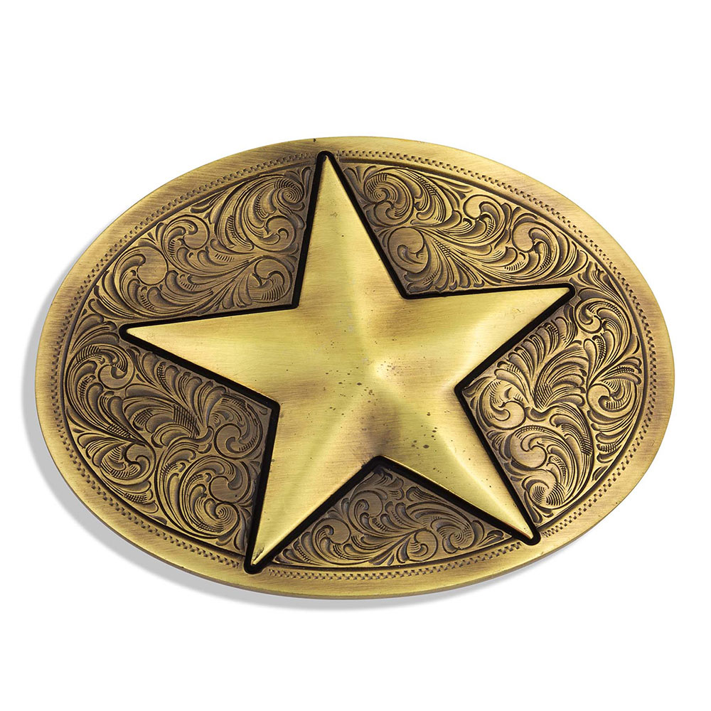 Heritage Give A Star Attitude Buckle