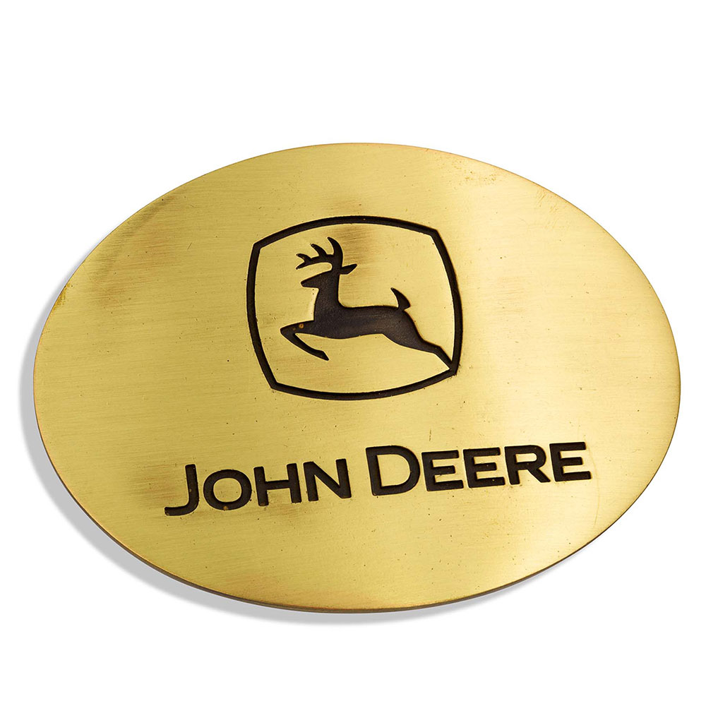 Heritage John Deere Attitude Buckle