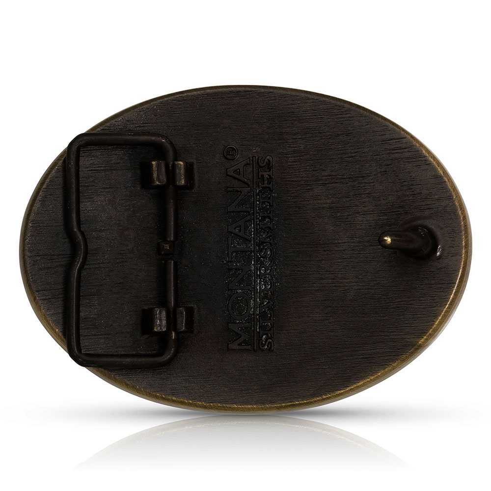 Heritage Master of None Moose Buckle