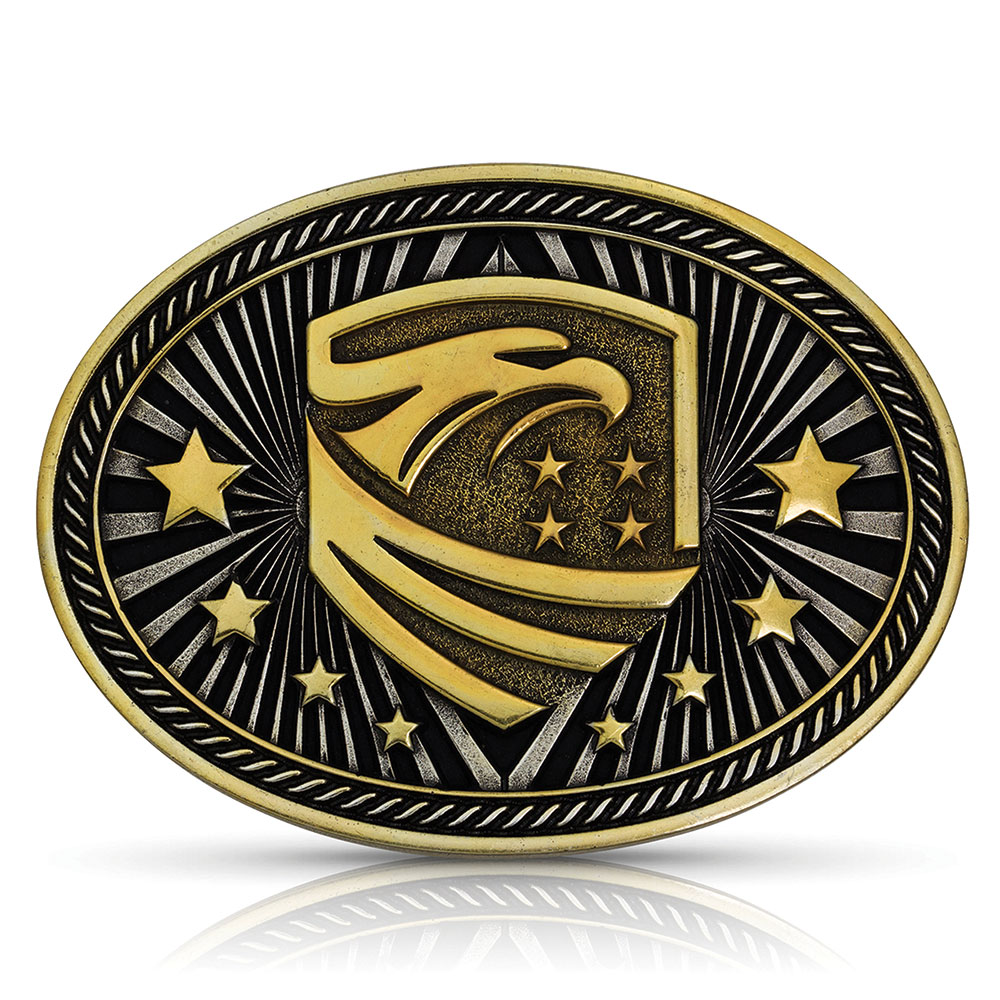 Beyond Bold Eagle Emblem Buckle