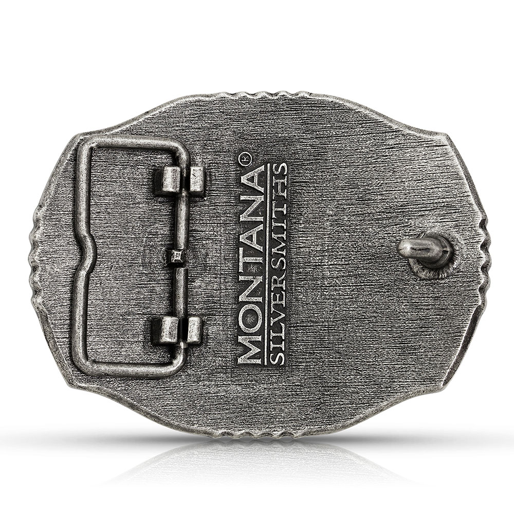 Start of the Fight Bass Buckle