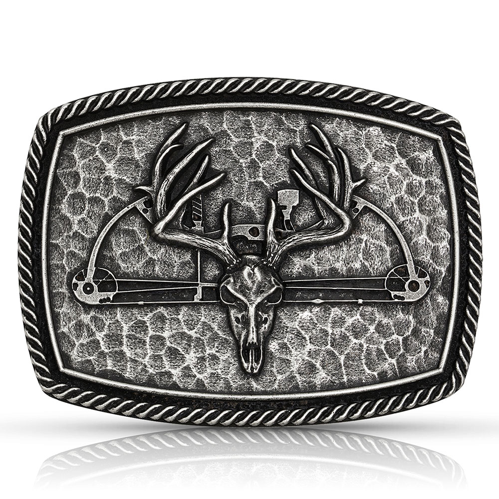 Antiqued Hunting Trophy Buckle