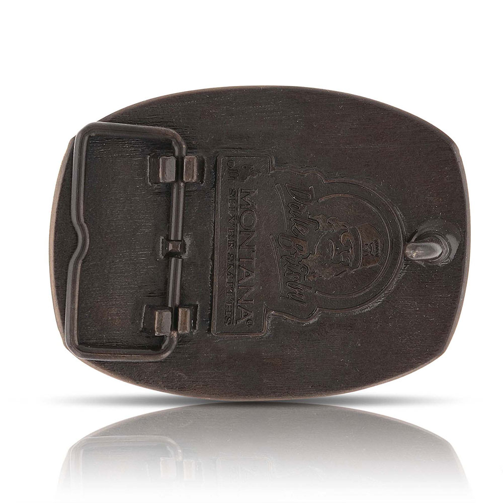 Dale Brisby Saddle Bronc Trophy Buckle