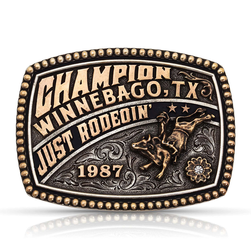 Dale Brisby Just Rodeoin' Trophy Buckle