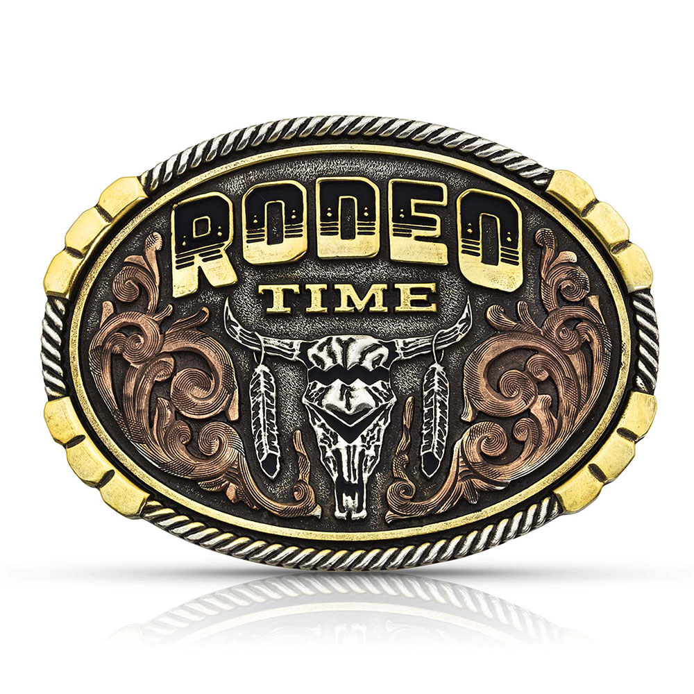 Dale Brisby Rodeo Time Attitude Buckle