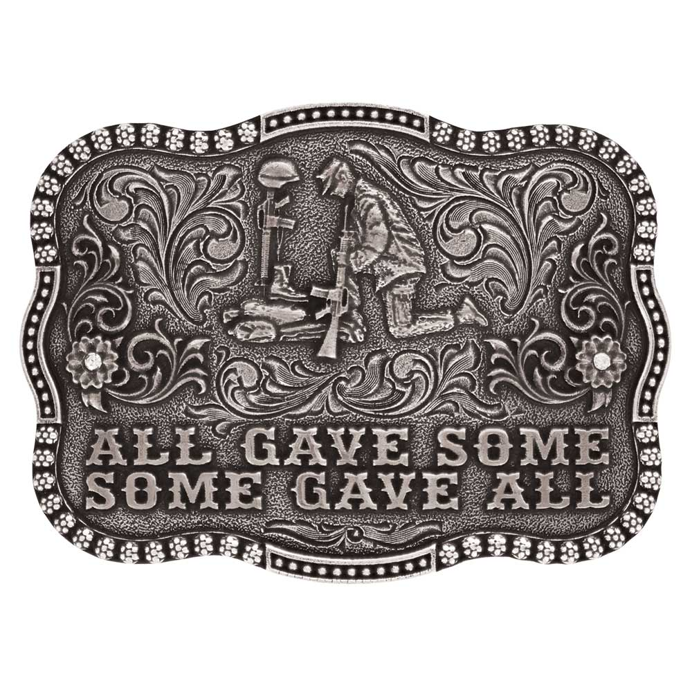 All Gave Some Remembrance Attitude Buckle