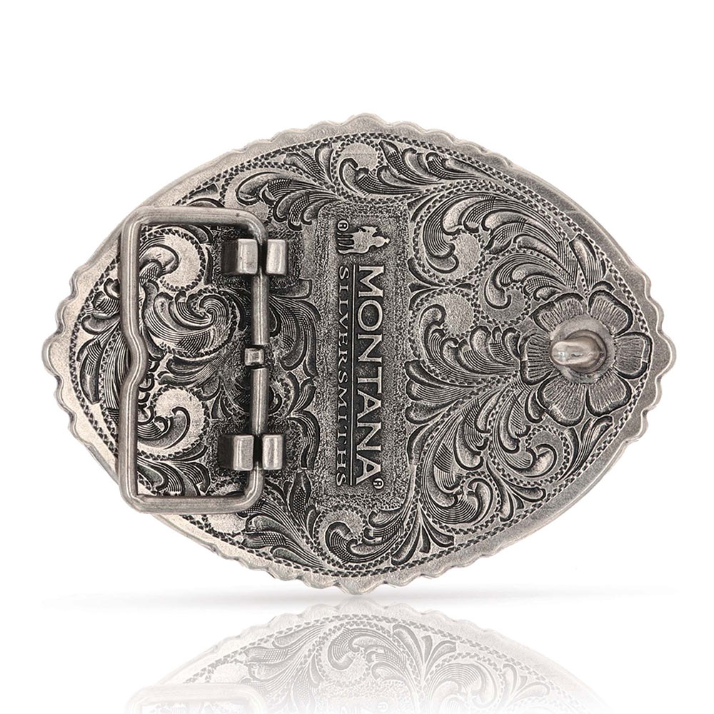 Pain Is Temporary Bull Riding Attitude Buckle