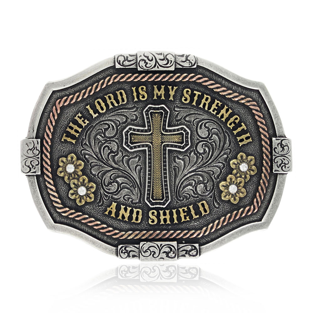 Strength and Shield Attitude Buckle