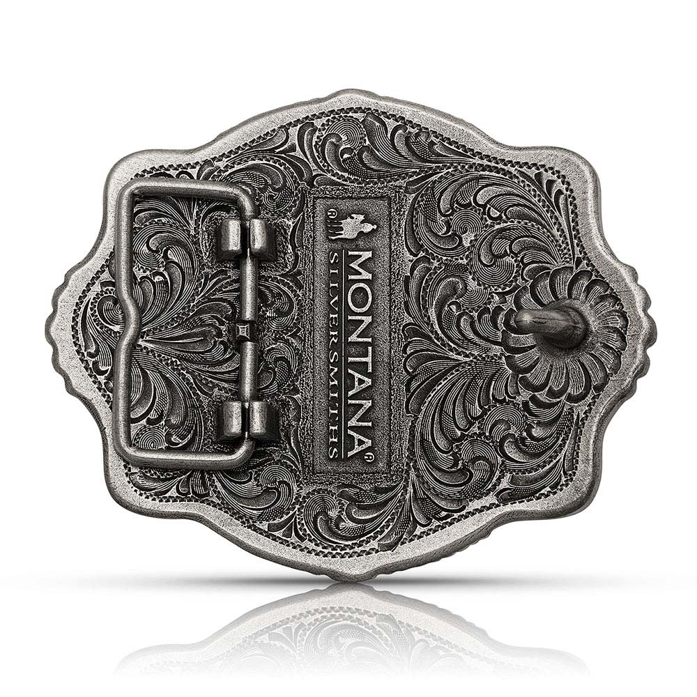 Part of the Whole Praying Cowboy Attitude Buckle