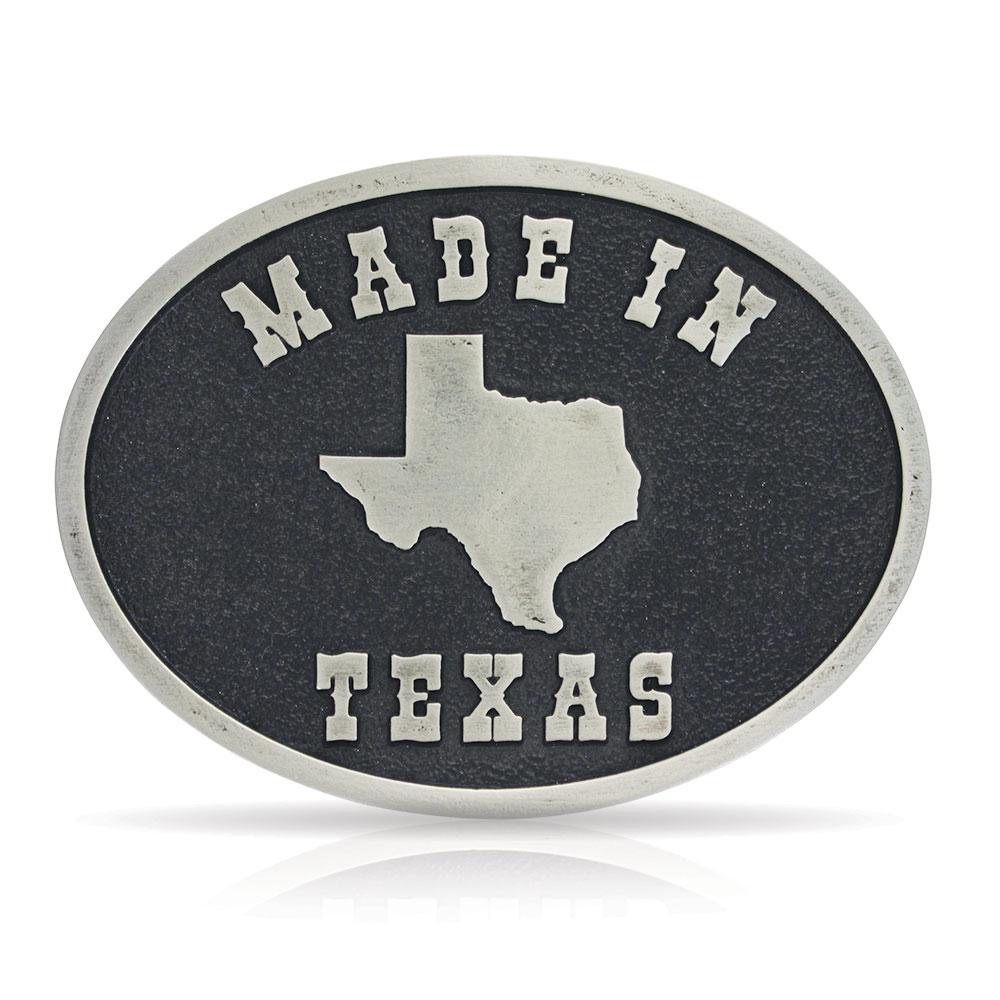 Made in Texas Attitude Buckle