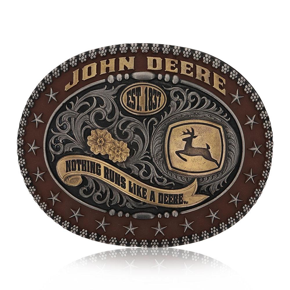 John Deere Trophy Attitude Buckle