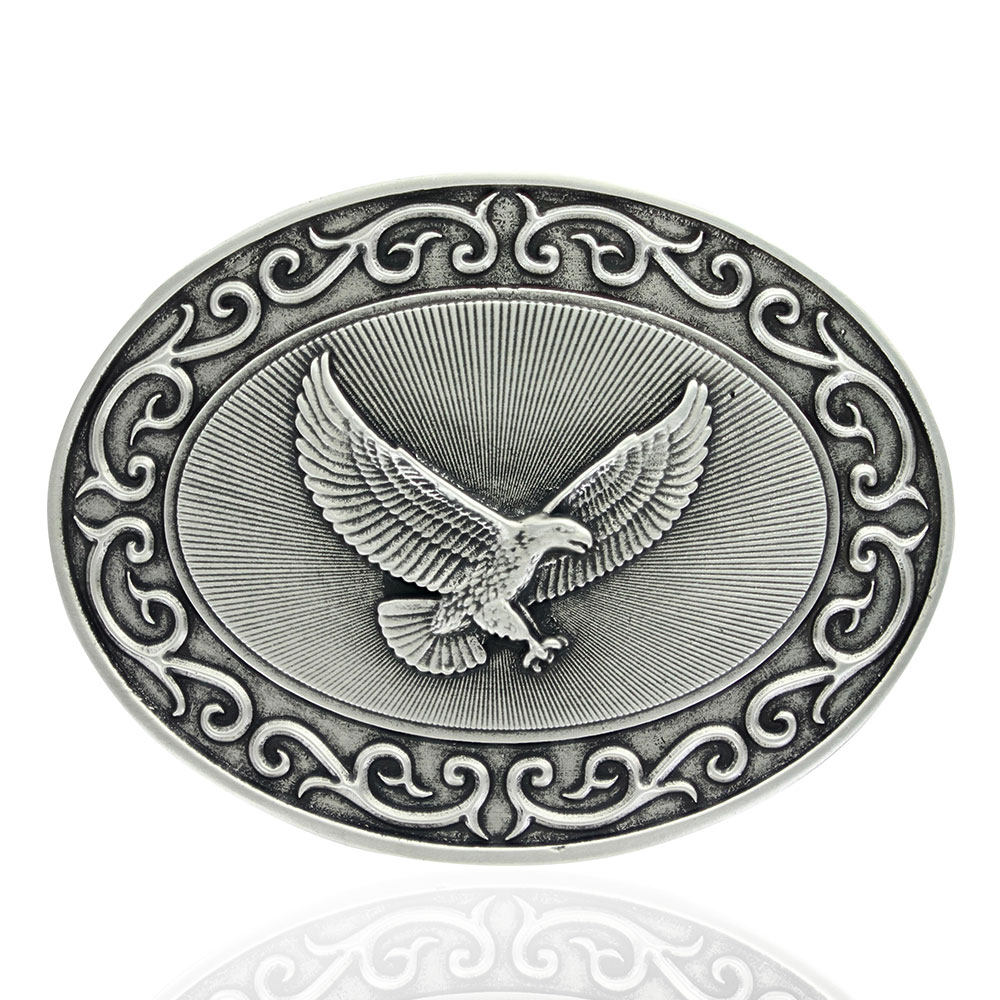 Ready for Action American Eagle Attitude Buckle