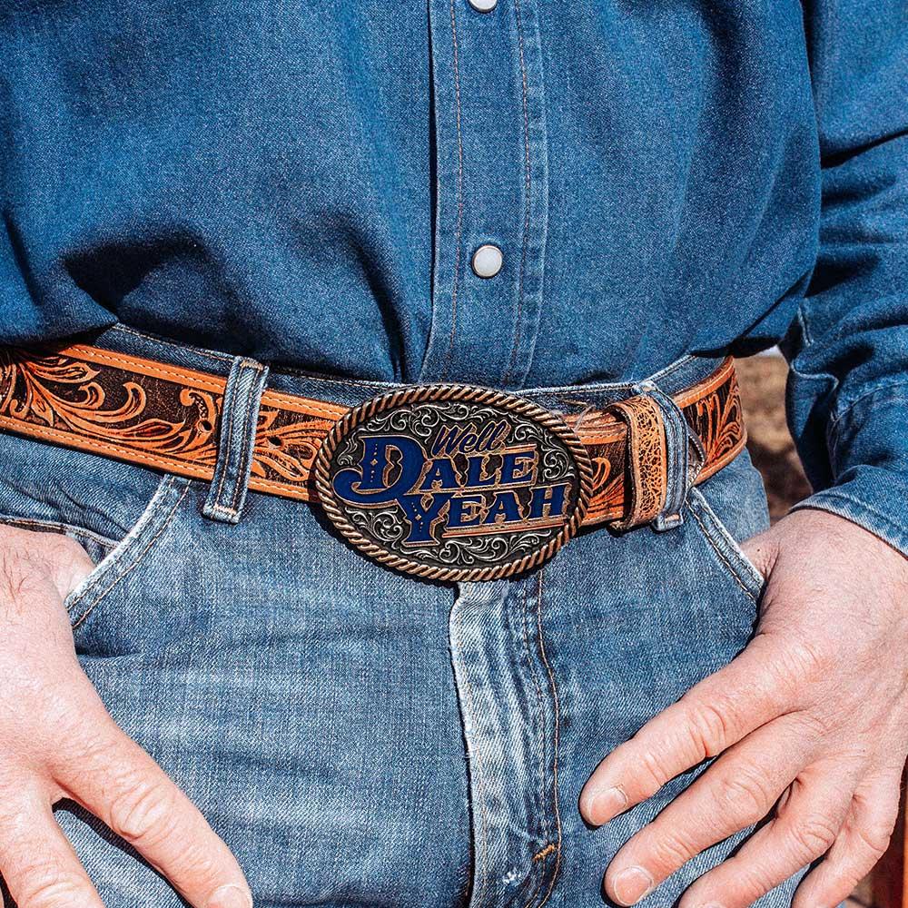 Dale Yeah Dale Brisby Attitude Belt Buckle