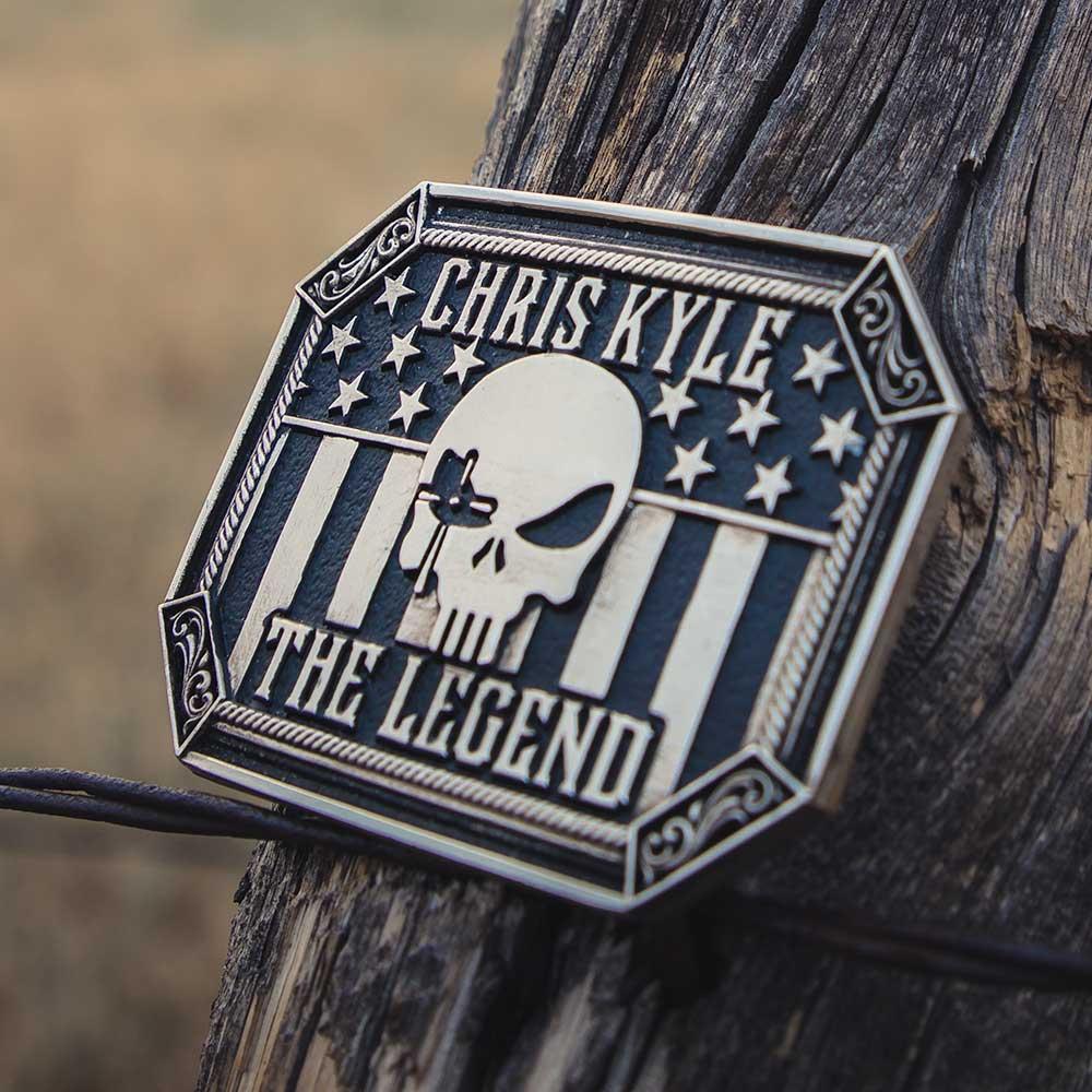 The Legend Chris Kyle Attitude Belt Buckle