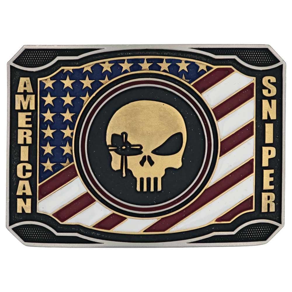 Patriotic Duty Chris Kyle Attitude Belt Buckle