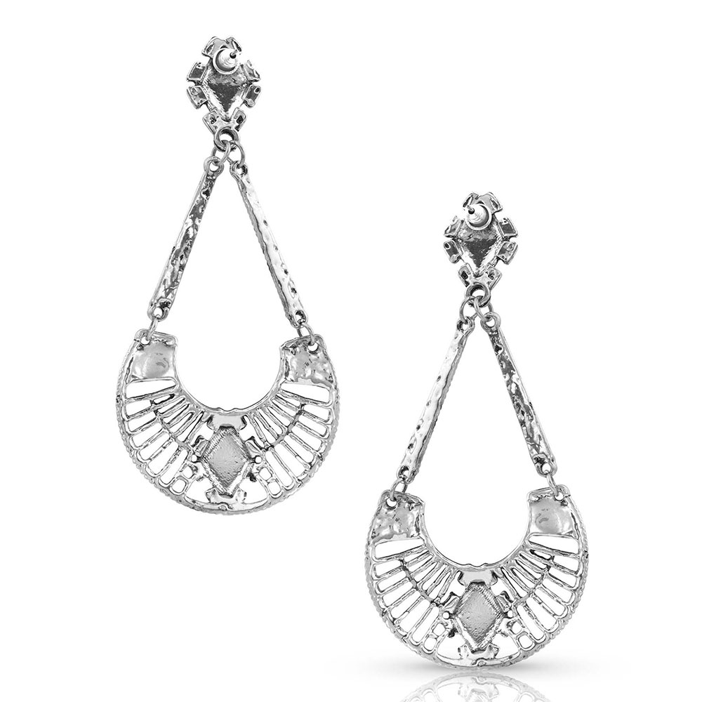 Catching the Diamond Earrings Attitude Jewelry