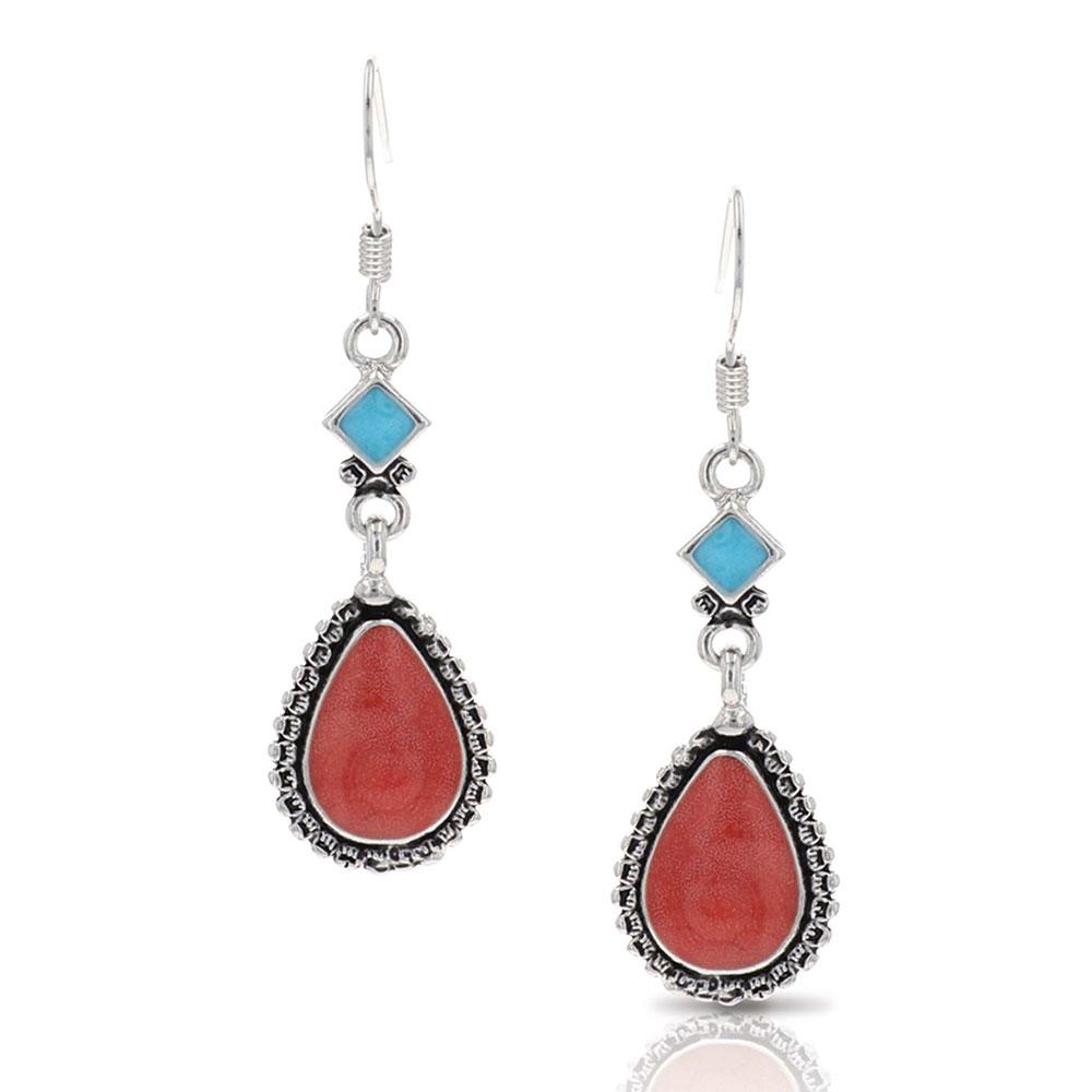 Charming Teardrop Earrings Attitude Jewelry