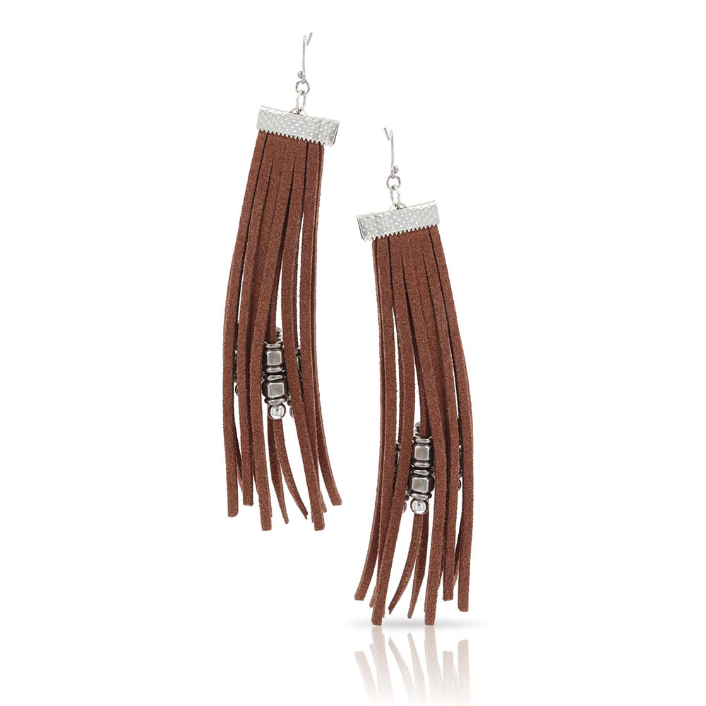 Barred Fringe Earrings Attitude Jewelry