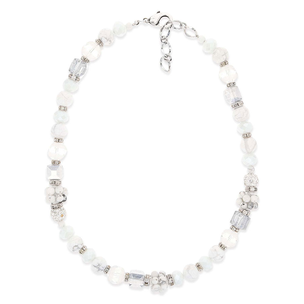 Snowy Choker Necklace Attitude Jewelry