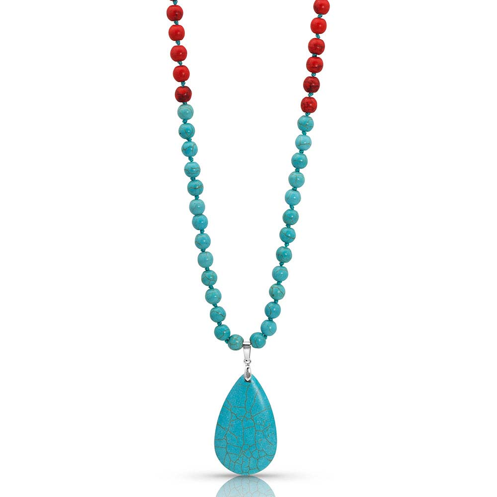 Colors of Strength Bead Attitude Necklace
