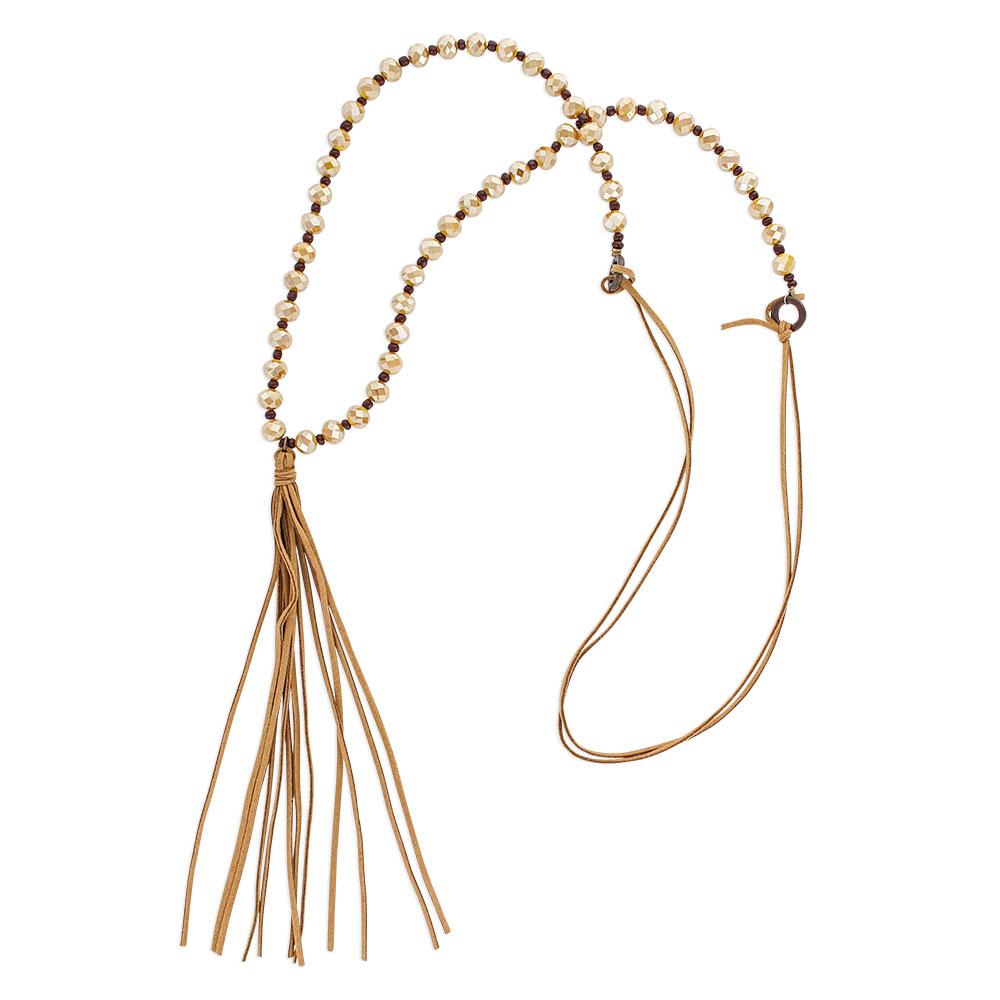 Whispering Tails Golden Attitude Necklace