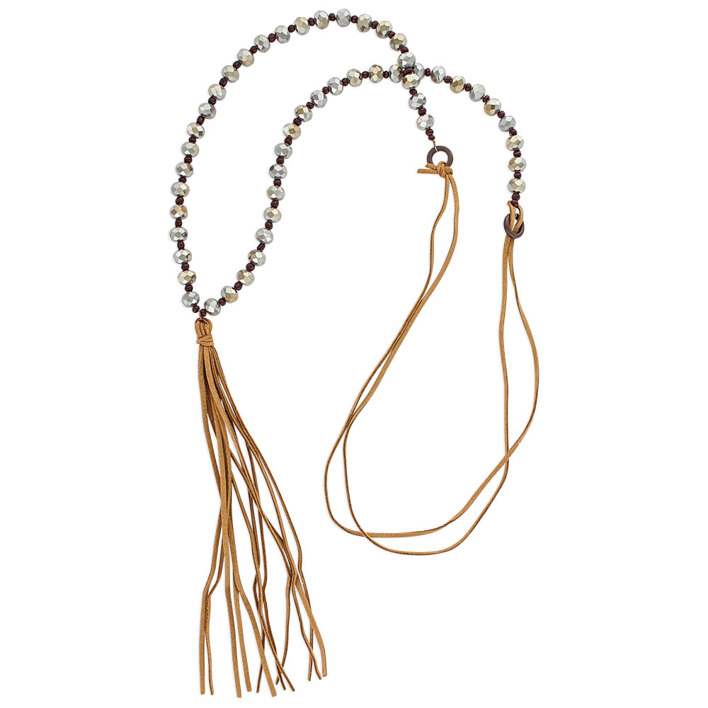 Whispering Tails River Attitude Necklace