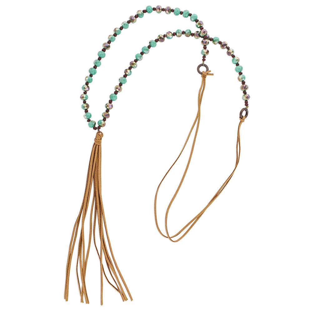 Whispering Tails Vibrant Attitude Necklace