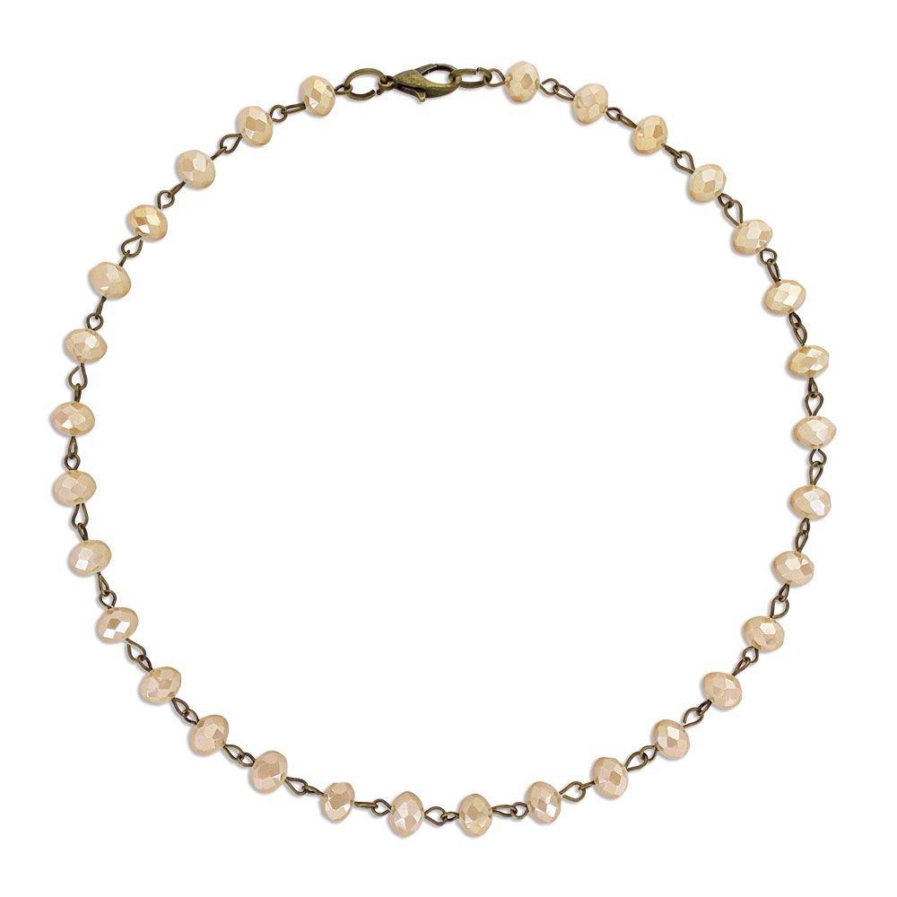 Golden Light Layered Attitude Necklace