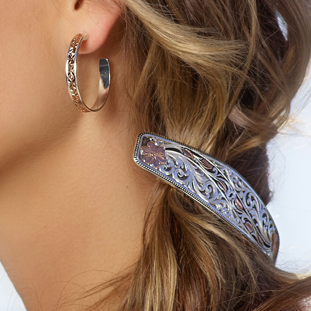Winding Leaves in Fall Barrette