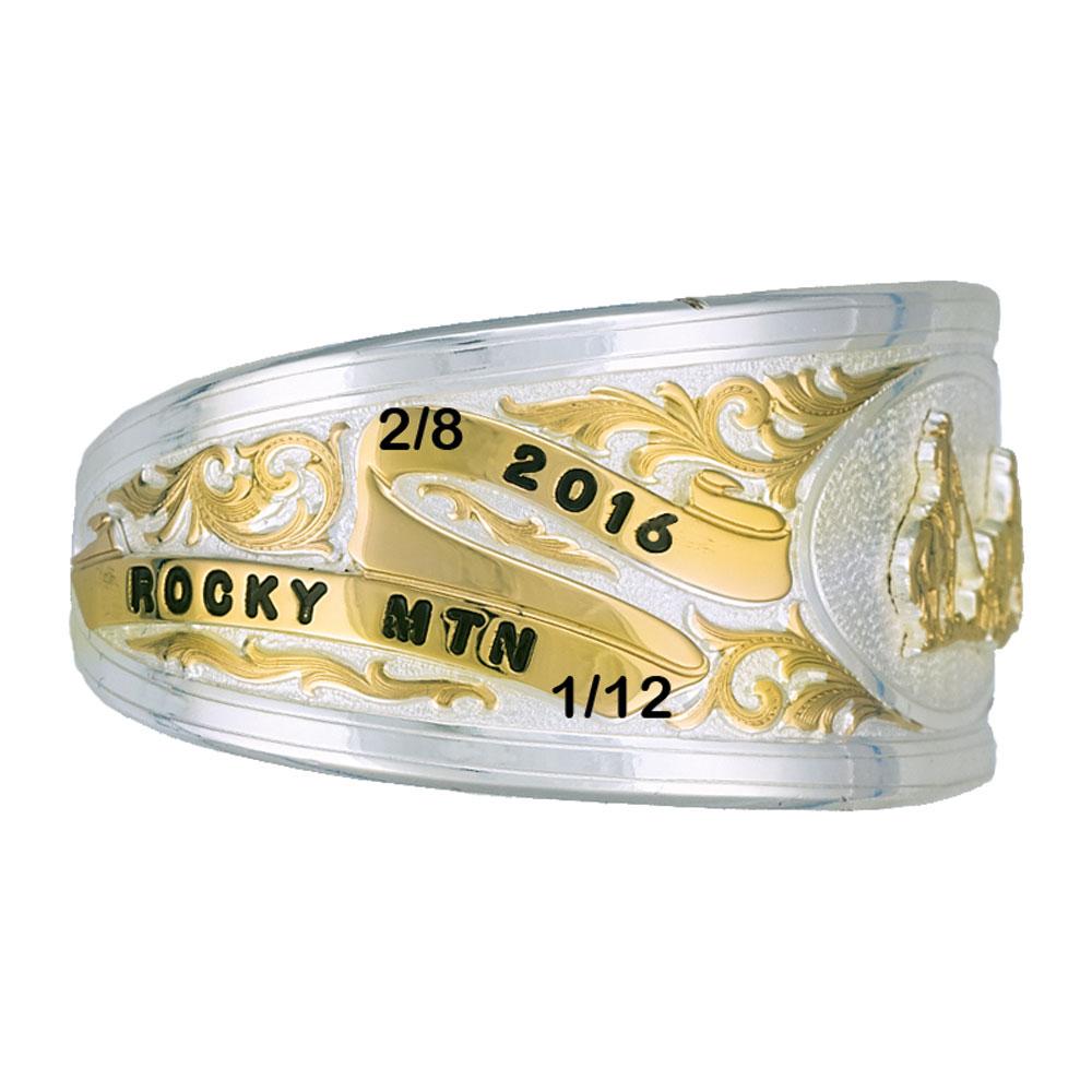 The Scherlie Two-Tone Trophy Cuff Bracelet BC1056