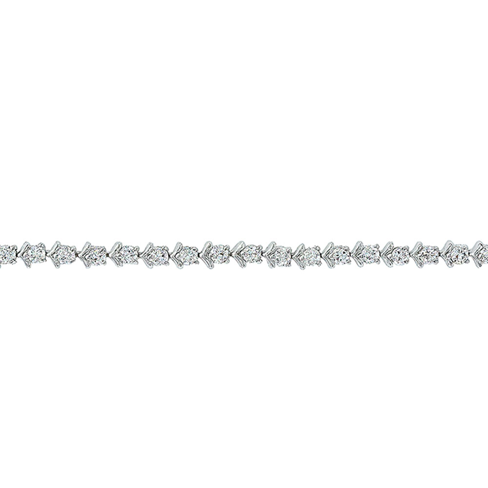Star Lights and Chevron Link Bracelet