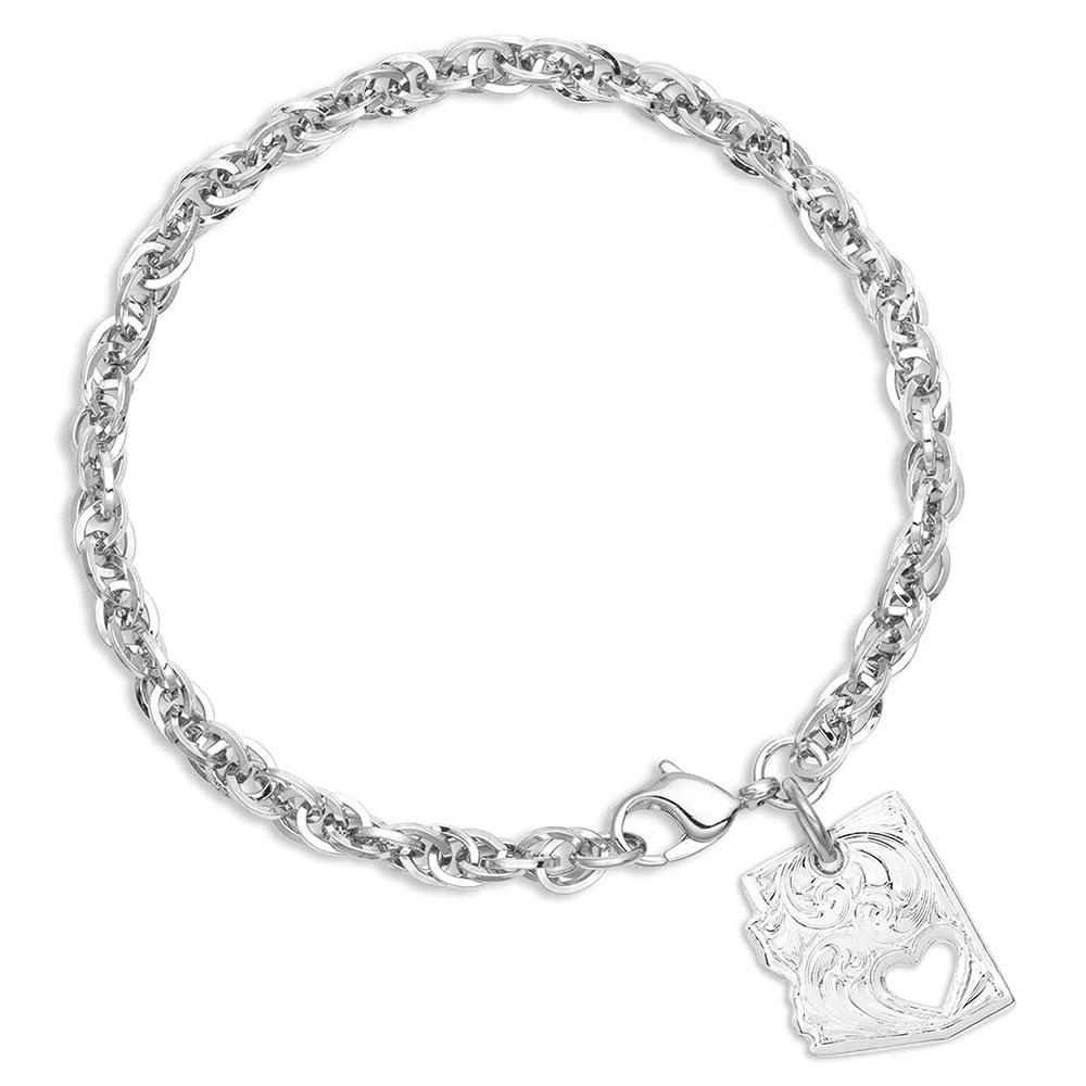 I Heart Arizona State Charm Bracelet