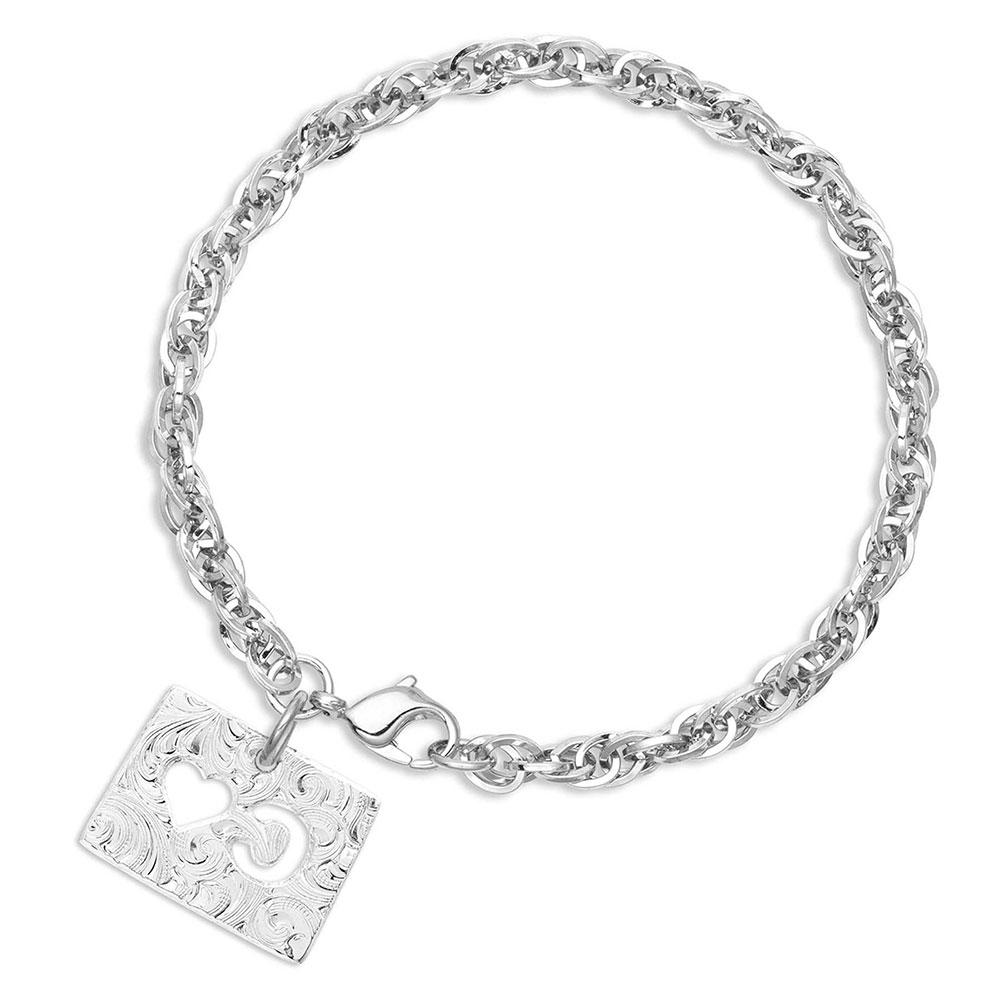 I Heart Colorado State Charm Bracelet